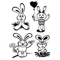 Four Bunnies