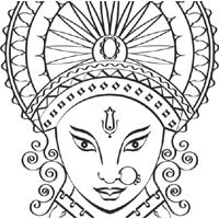 Hinduism Coloring Pages Surfnetkids