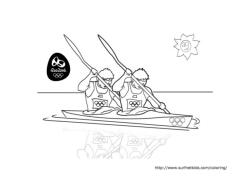 Kayak Summer Olympics 2016