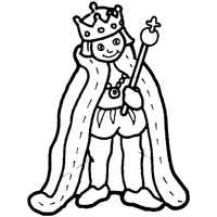 King With Scepter