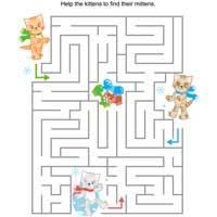 Kitten Mitten Maze