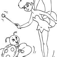 Ladybug and Tinkerbell