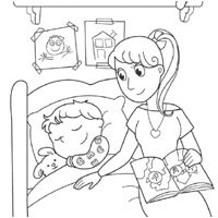Bedtime » Coloring Pages » Surfnetkids