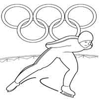 Olympic Ice Skater