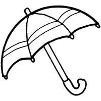Umbrella Coloring Pages Surfnetkids
