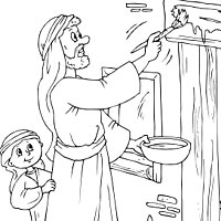 passover » coloring pages » surfnetkids - Passover Coloring Pages Printable