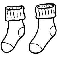 socks coloring pages Pair of Socks » Coloring Pages » Surfnetkids socks coloring pages