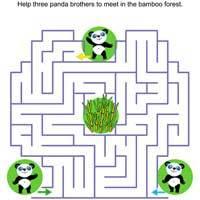 Panda Labyrinth