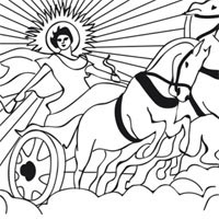 Ancient Greece Coloring Pages Surfnetkids