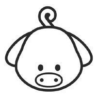 Free Pig Coloring Page, Download Free Clip Art, Free Clip Art on ... | 200x200
