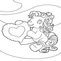Pony With Heart