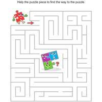 Puzzle Piece Maze