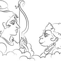 Rama And Hanuman