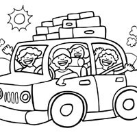 Road Trip Coloring Sheets Coloring Coloring Pages