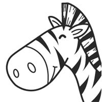 Smiley Zebra