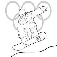 Winter Olympics Coloring Pages