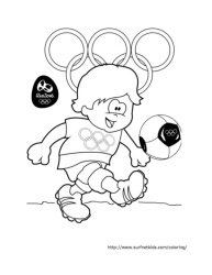 Summer Olympics Coloring Pages Surfnetkids