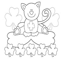 St. Patrick\'s Day » Coloring Pages » Surfnetkids