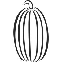 Tall Pumpkin Coloring Pages