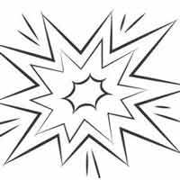 pow flag coloring pages | Zap, Pow, Bang! » Coloring Pages » Surfnetkids