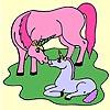 Two Unicorn Coloring