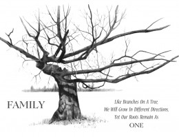Fun Layout Ideas for Your Family Tree
