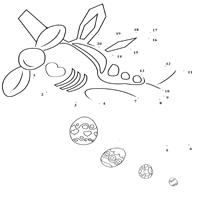 Easter Visit Dot to Dot