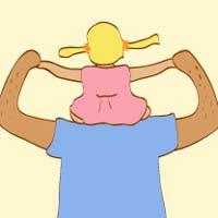 Dad's Shoulders