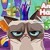 Angry Cat Hair Salon