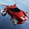 3D Flying Car Jigsaw