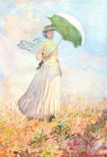 Lady with a Parasol, 1886, Claude Monet, Musée d'Orsay, Paris