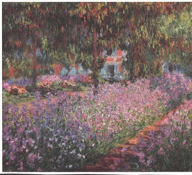 Monet's Garden in Giverny, unknown