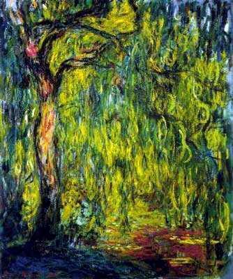 Weeping Willow, 1918-19, Claude Monet