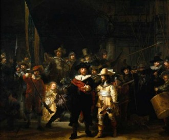 The Night Watch. 1642. Rijksmuseum, Amsterdam, the Netherlands