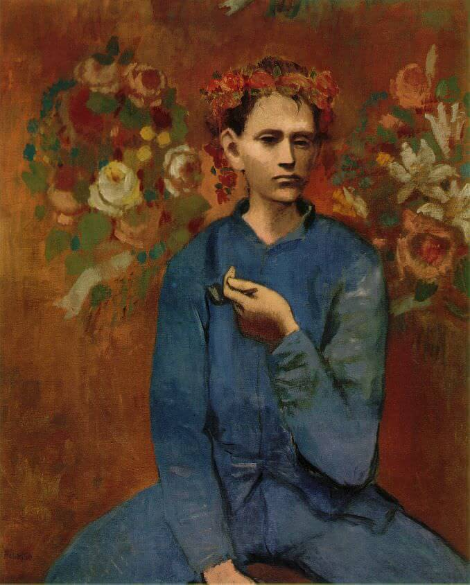 Boy with Pipe, 1905