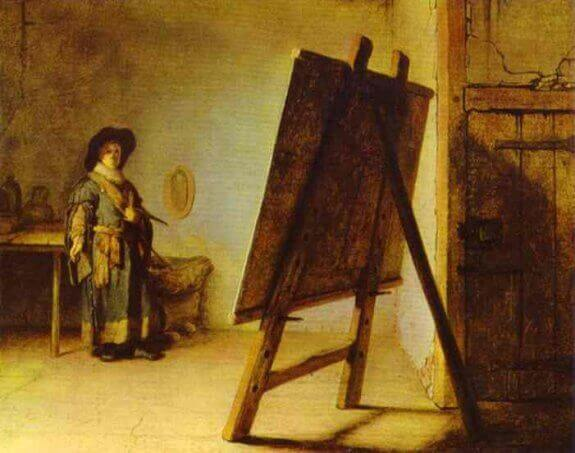 An Artist in His Studio. 1629. The Museum of Fine Arts, Boston, MA, USA.