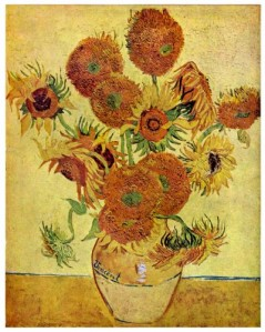 Still Life: Vase with Fifteen Sunflowers – August 1888