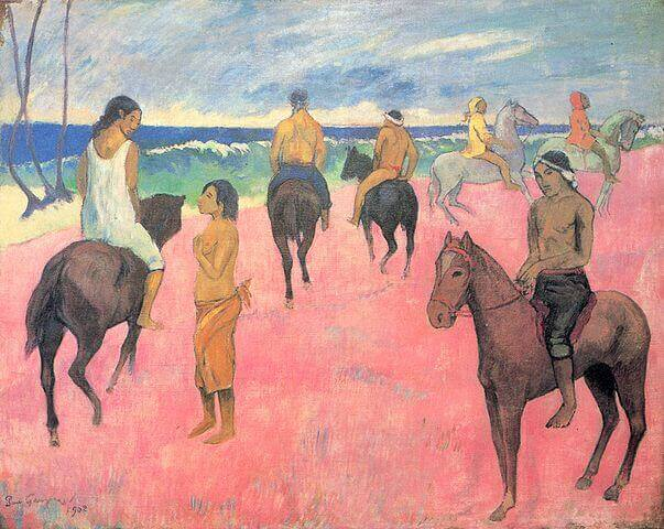 Riders on the Beach (1902)
