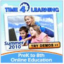 Time 4 Learning Summer Study Program