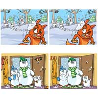 Snowy Spot the Differences