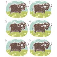 Yak Matching Activity
