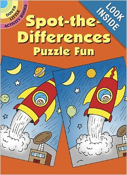 Spot the Difference Books