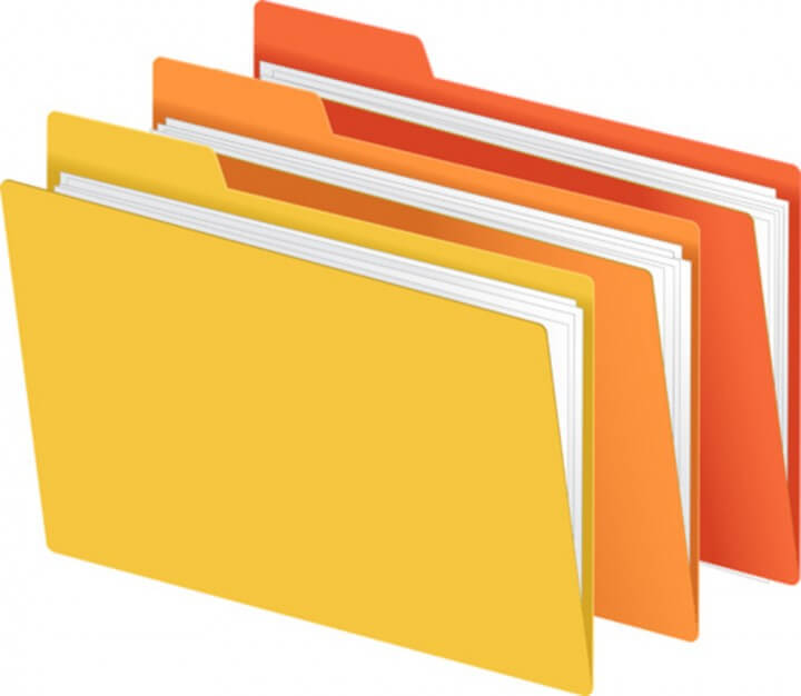 bigstock File Folders in Bright Colors 19287641 720x626