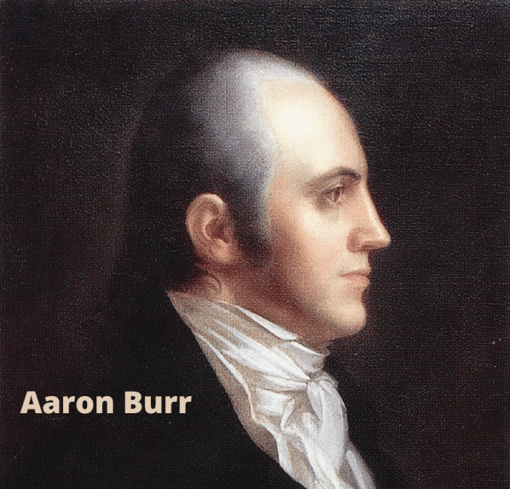 Aaron Burr web resources