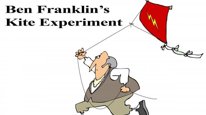 Ben Franklin Kite Experiment