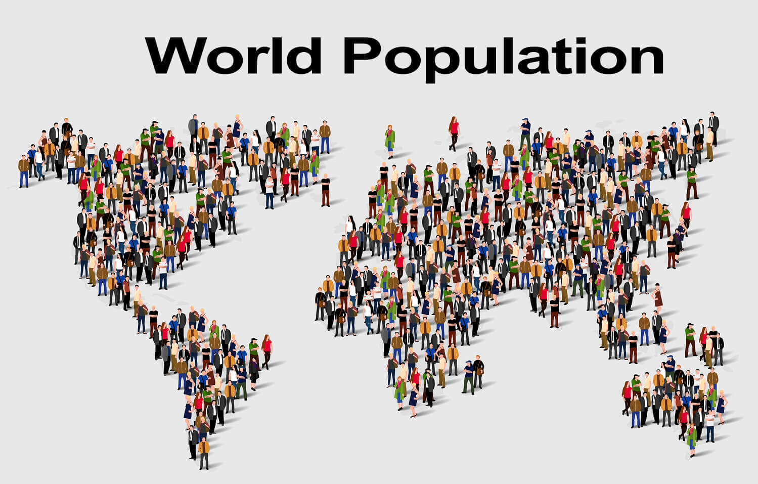 the world overpopulation The demographic future for the us and the world looks very different than the recent past growth from 1950 to 2010 was rapid—the global population nearly tripled, and the us population doubled.