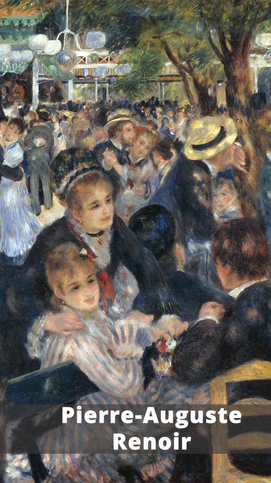 Pierre-Auguste Renoir (1841-1919) was an important member of the #Impressionist movement. #arthistory #K12 #resources #curriculum