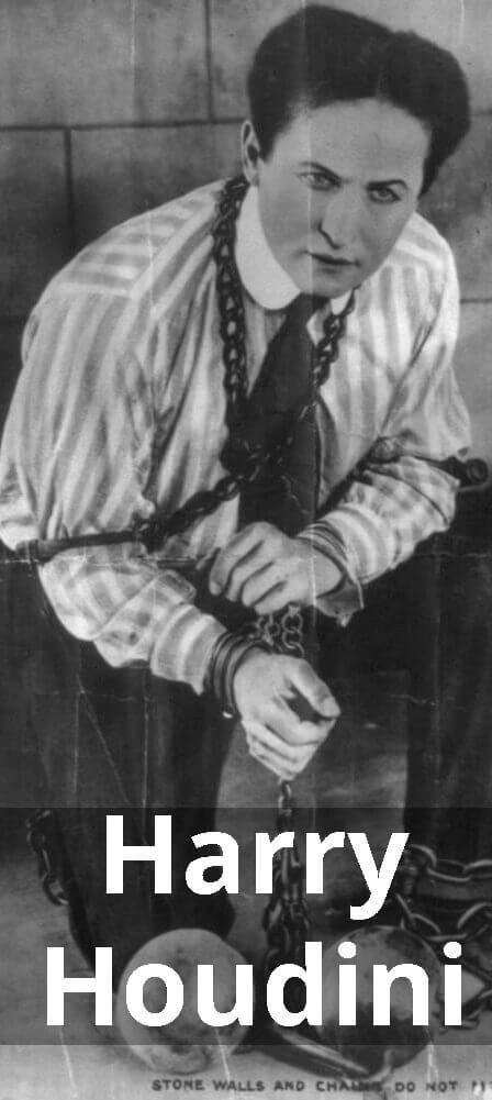 Harry #Houdini was legendary 20th-century American #magician,  escape artist, contortionist. #k12