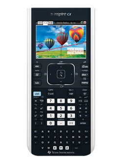 Win a TI Nspire CX Graphing Calculator