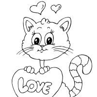Cute Love Kitten